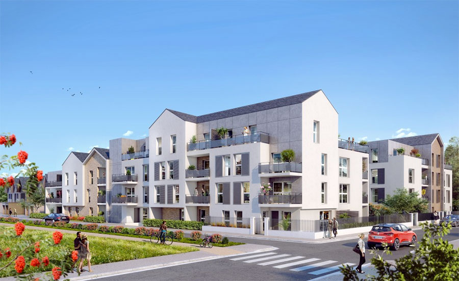 Appartement neuf Tours Nord